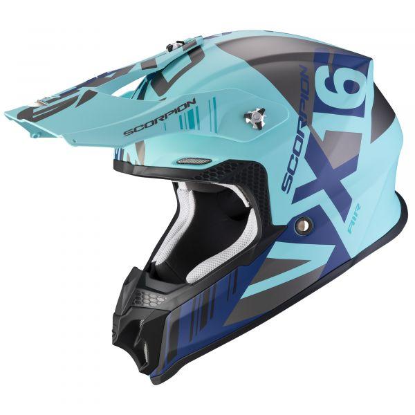 Scorpion VX-16 AIR Mach matt blue-silver