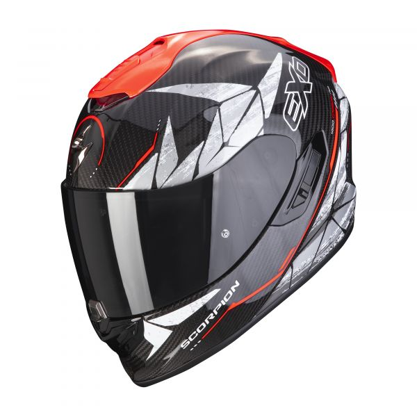 Scorpion EXO-1400 Carbon AIR ARANEA black-neon red