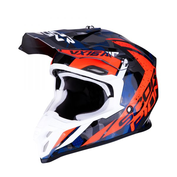 Scorpion VX-16  AIR WAKA silver-red-blue