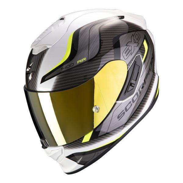Scorpion EXO-1400 AIR Attune white-neon yellow
