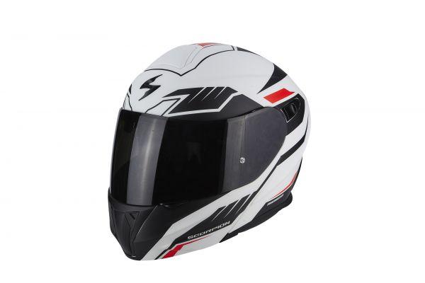 Scorpion EXO-920Shuttle matt white-black