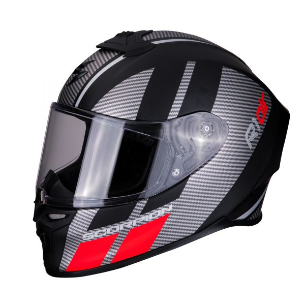 Scorpion EXO-R1 AIR Corpus matt black-silver red