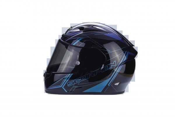 Scorpion Helm EXO-710 AIR Line schwarz-chamäleon