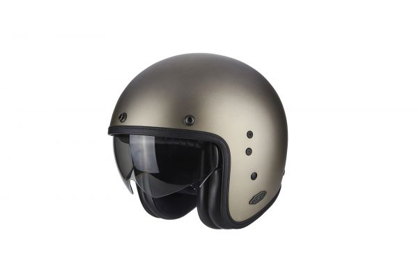 Scorpion Helm BELFAST Solid titanium matt