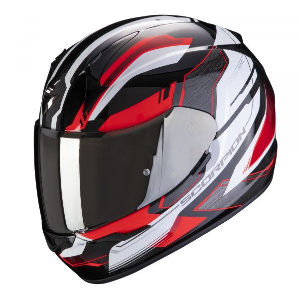 Scorpion Helm EXO-390 Boost black-white-red