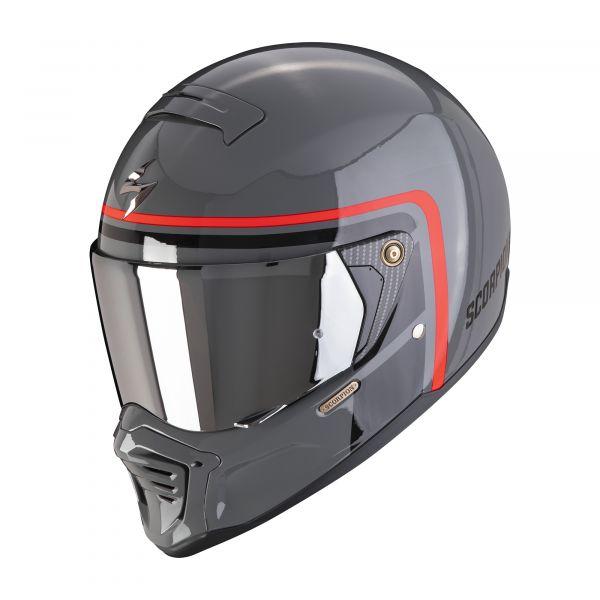 Scorpion EXO-HX-1 Nostalgia cement gray-black-red
