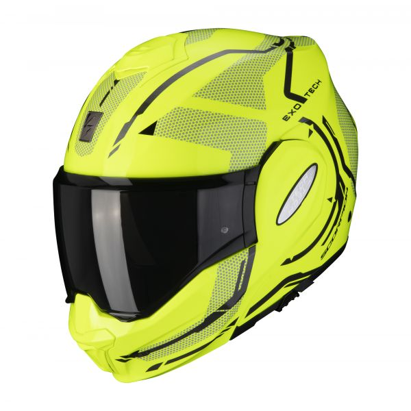 Scorpion EXO-TECH SQUARE neon yellow-black