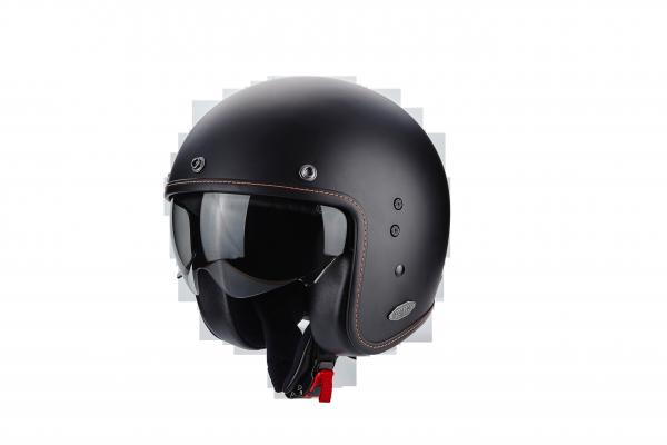 Scorpion Helm BELFAST solid mattschwarz