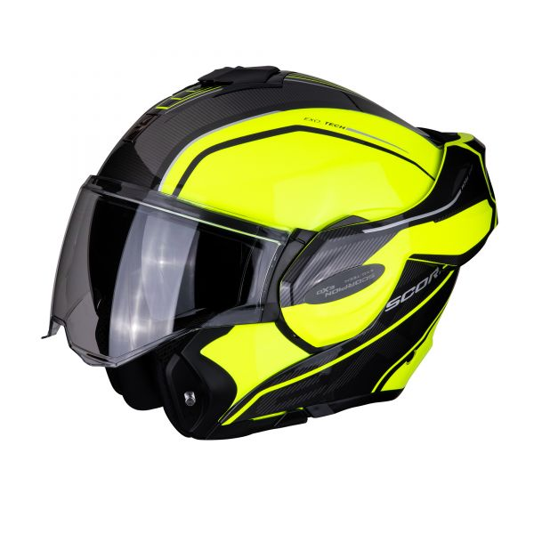 Scorpion EXO-TECH Time-Off neon yellow-silver