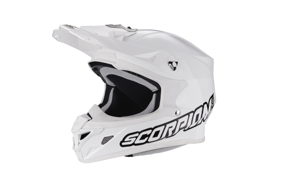 Scorpion Crosshelm VX-21 AIR Solid weiss