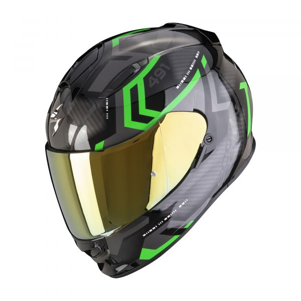 Scorpion EXO-491 SPIN black-green