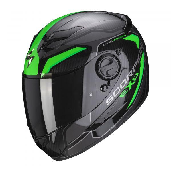 Scorpion Helm EXO-490 SUPERNOVA black-green