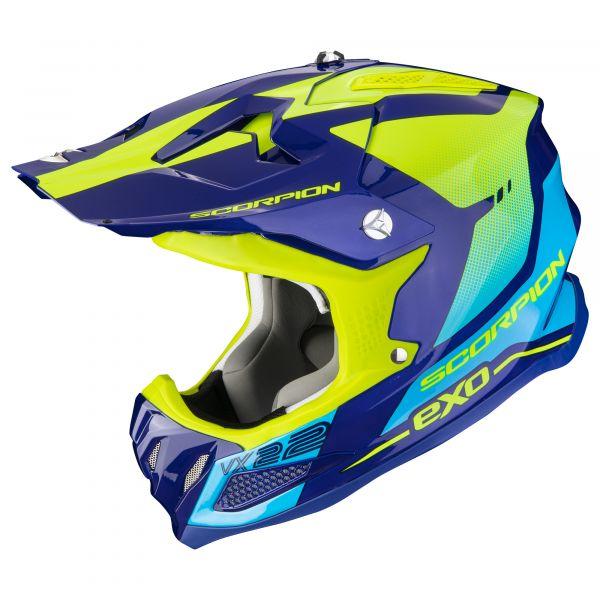 Scorpion VX-22 AIR ATTIS blue-neon yellow