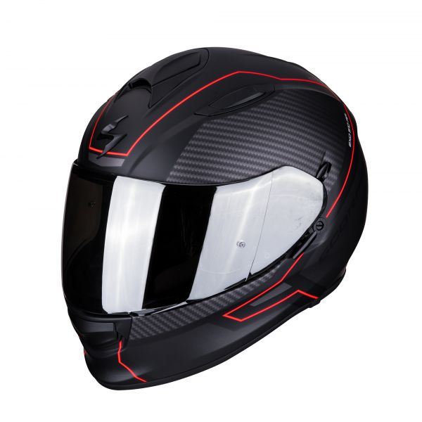 Scorpion Helm EXO-510 AIR FRAME matt black-red