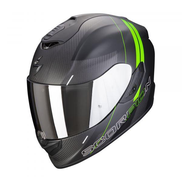 Scorpion EXO-1400 Carbon AIR DRIK matt black-green