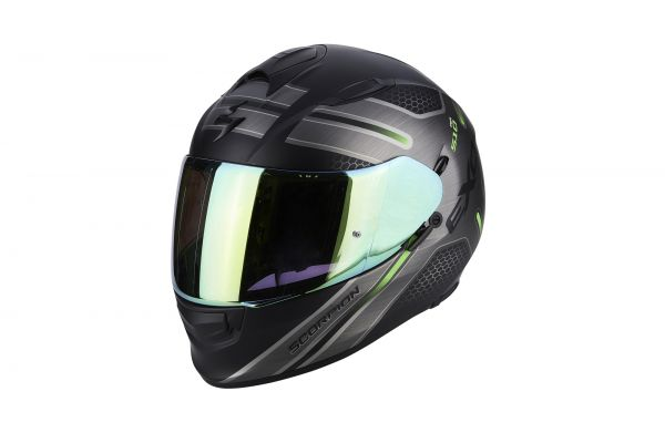EXO-510 Air Route Matt Black-Green