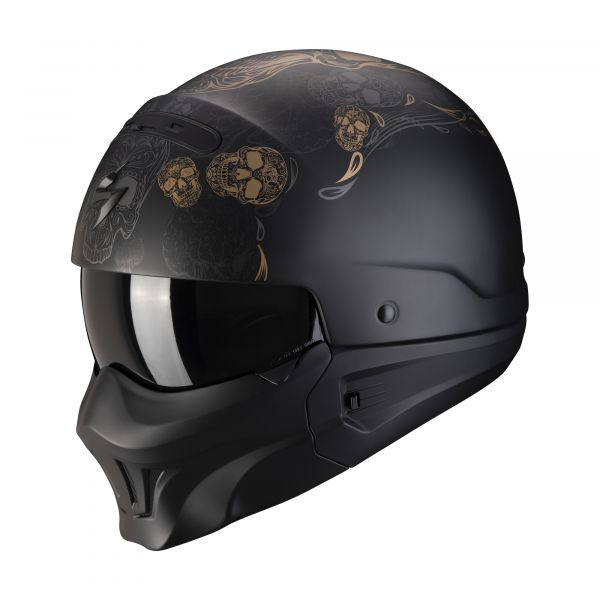 Scorpion EXO-Combat Evo KALAVERA matt black-gold