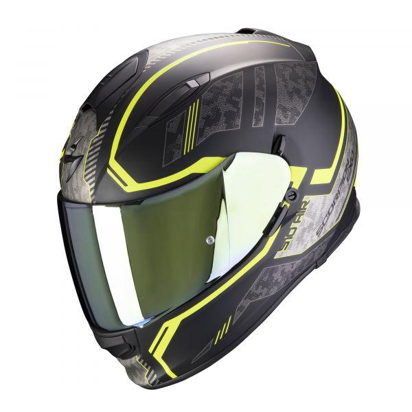Scorpion EXO-510 AIR Occulta matt black-neon yellow