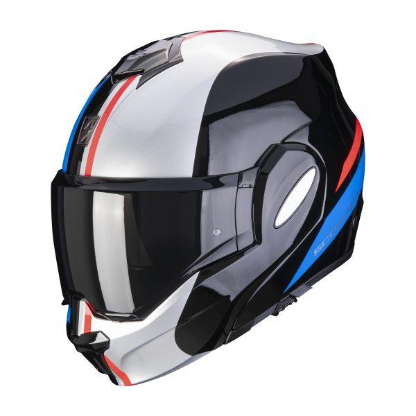 Scorpion EXO-TECH Forza black-silver-red