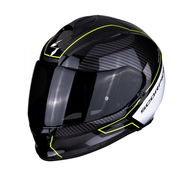 Scorpion Helm EXO-510 AIR FRAME black-neon yellow-white