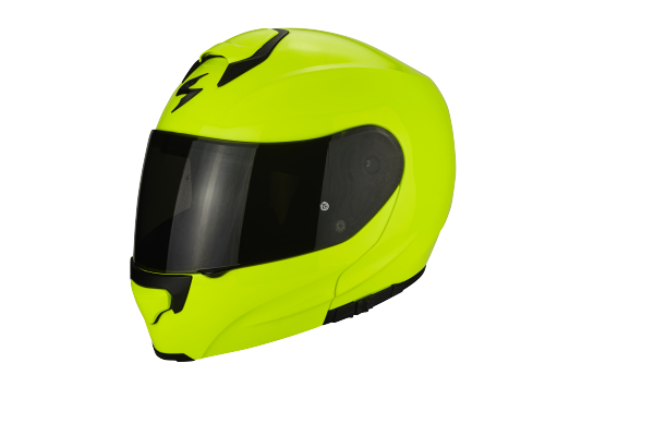 Scorpion Klapphelm EXO-3000 AIR Solid Neon Gelb