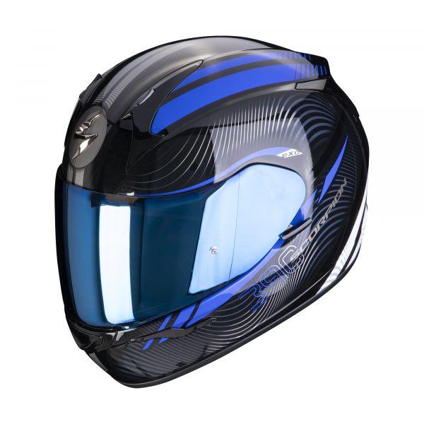 Scorpion Helm EXO-390 STING black-blue