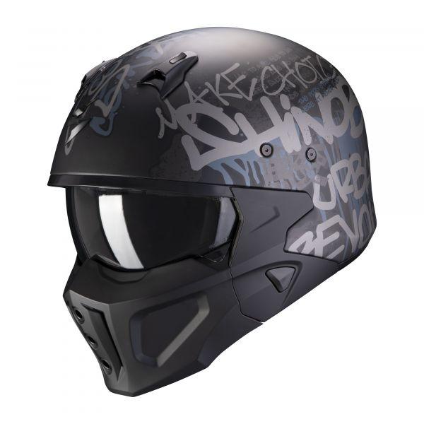 Scorpion Covert-X Wall matt black-silver