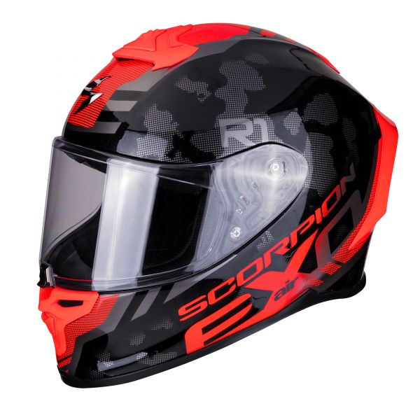 Scorpion EXO-R1 AIR OGI black-red