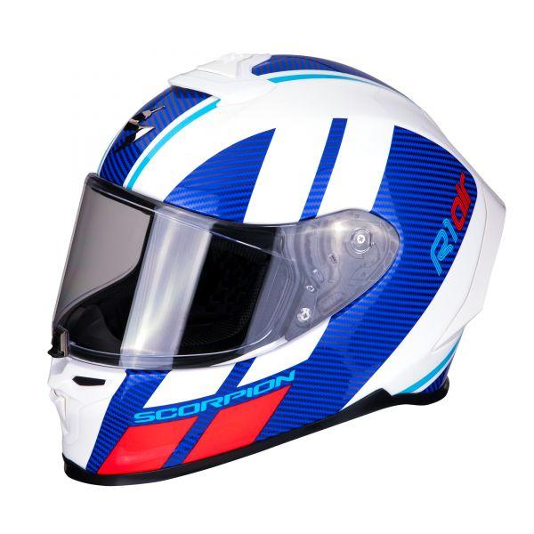 Scorpion EXO-R1 AIR Corpus white-blue-red