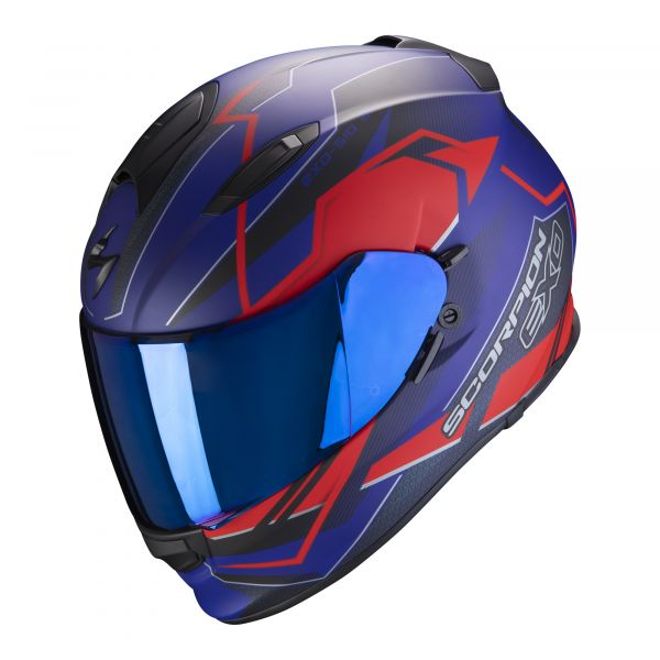 Scorpion EXO-510 AIR Balt matt blue-red