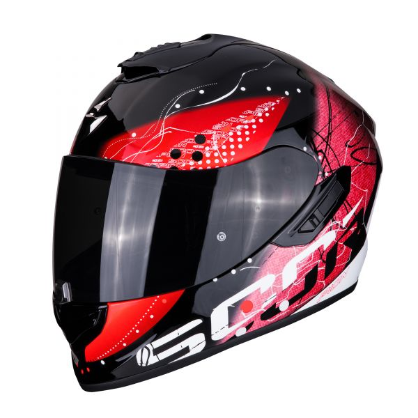 Scorpion EXO-1400 AIR CLASSY black-red