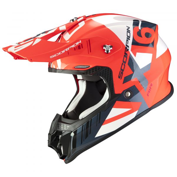 Scorpion VX-16 AIR Mach neon red-white