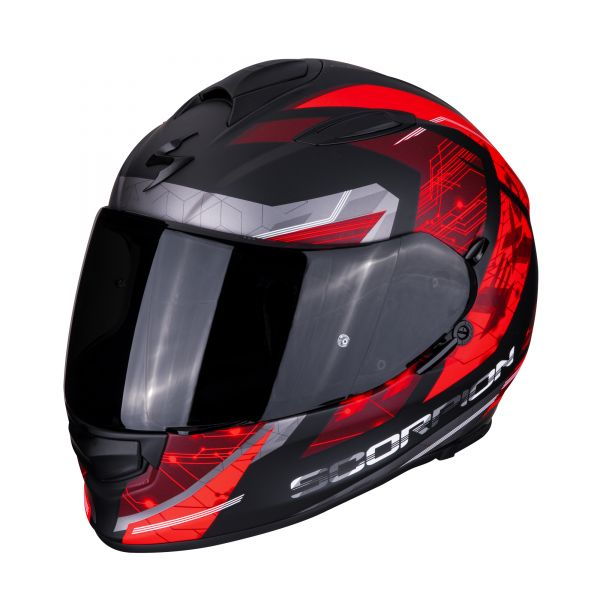 Scorpion Helm EXO-510 AIR CLARUS matt black-red