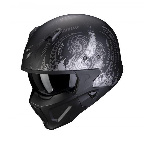Scorpion Covert-X TATTOO matt black-silver