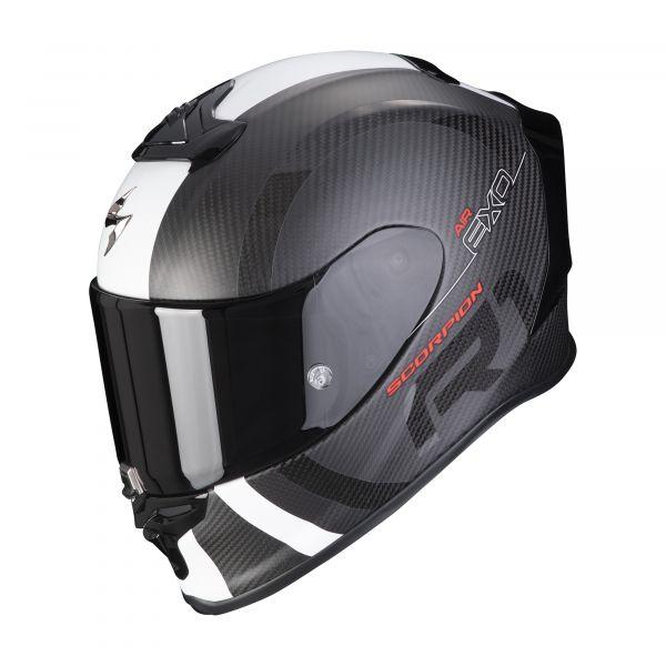 Scorpion EXO-R1 Carbon Air MG matt black-white