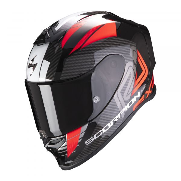 Scorpion EXO-R1 AIR Halley metallic black-red