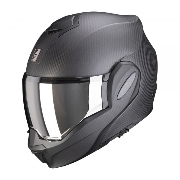 Scorpion EXO-TECH Carbon SOLID matt black