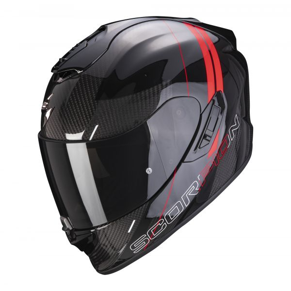Scorpion EXO-1400 Carbon AIR DRIK black-red