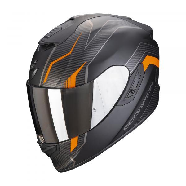 Scorpion EXO-1400 AIR Fortuna matt black-orange