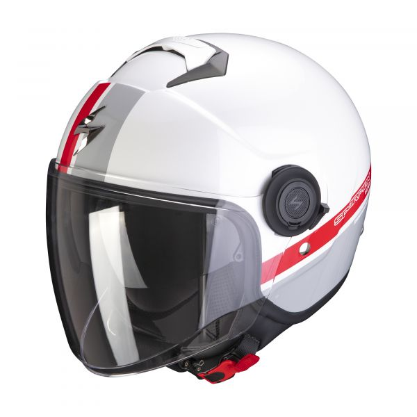 EXO-City STRADA white-silver-red