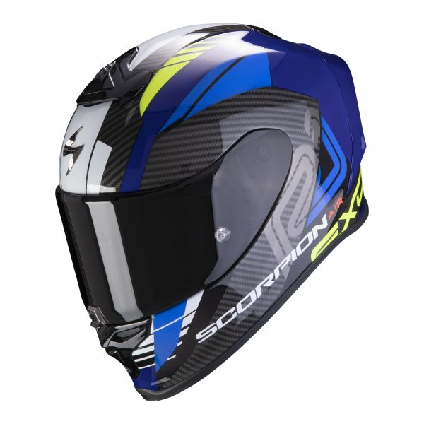 Scorpion EXO-R1 AIR Halley blue- neon yellow