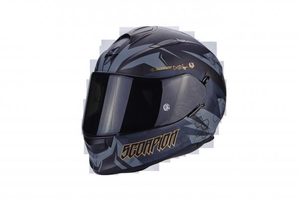 Scorpion EXO-510 AIR Cipher matt-schwarz gold