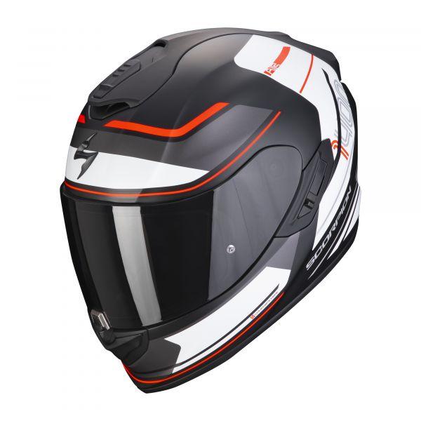 Scorpion EXO-1400 AIR VITTORIA matt black-white