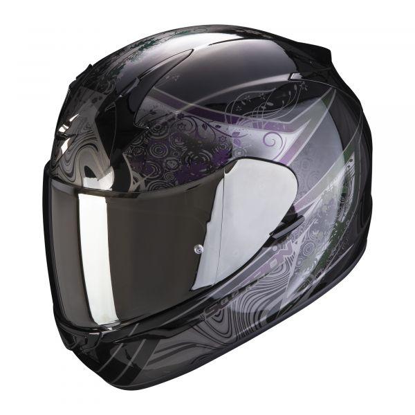 Scorpion Helm EXO-390 Clara black-silver