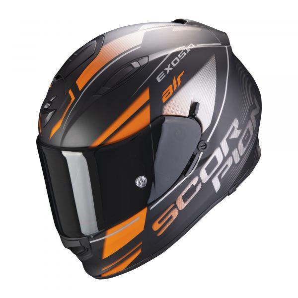 Scorpion EXO-510 AIR Ferrum matt black-orange- silver