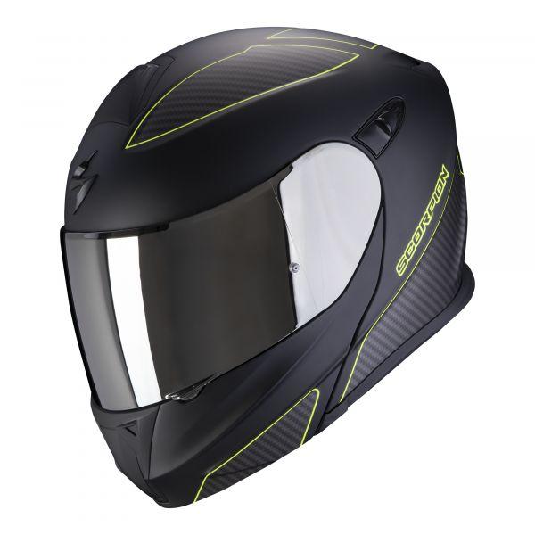 Scorpion EXO-920 Flux matt black-neon yellow