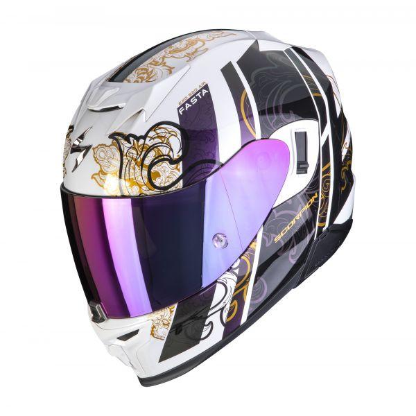 Scorpion EXO-520 AIR FASTA white chameleon