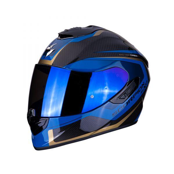 Scorpion EXO-1400 Carbon AIR Esprit black-blue