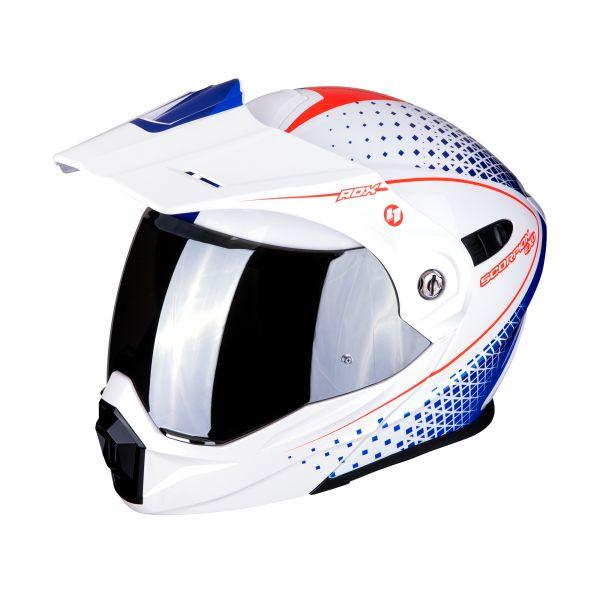 Scorpion ADX-1 HORIZON pearl white-red-blue