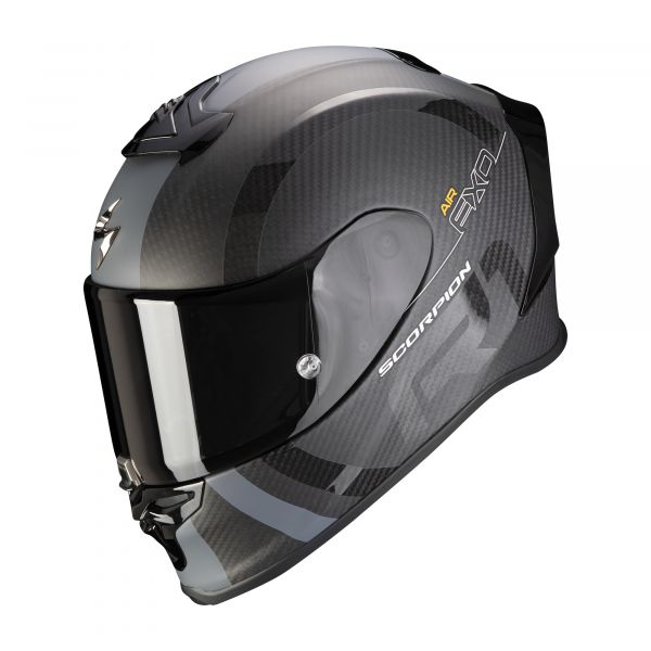 Scorpion EXO-R1 Carbon Air MG matt black-silver